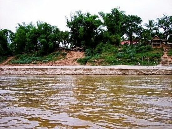 The Mekong in Laos