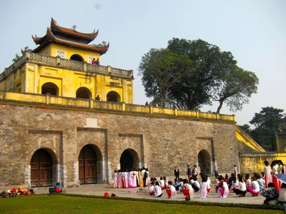 The Citadel in Hanoi