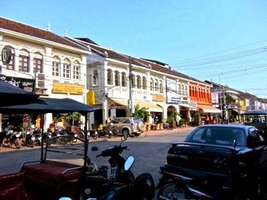 Old City Centre of Siem Reap