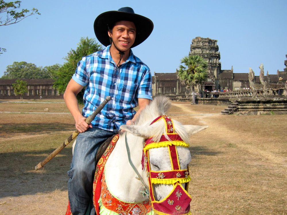 Horse Back Riding in Siem Reap