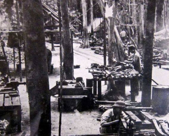 Picture of a Camp at Ho Chi Minh Trail