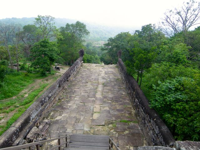 The Path to Preah Vihear Temple