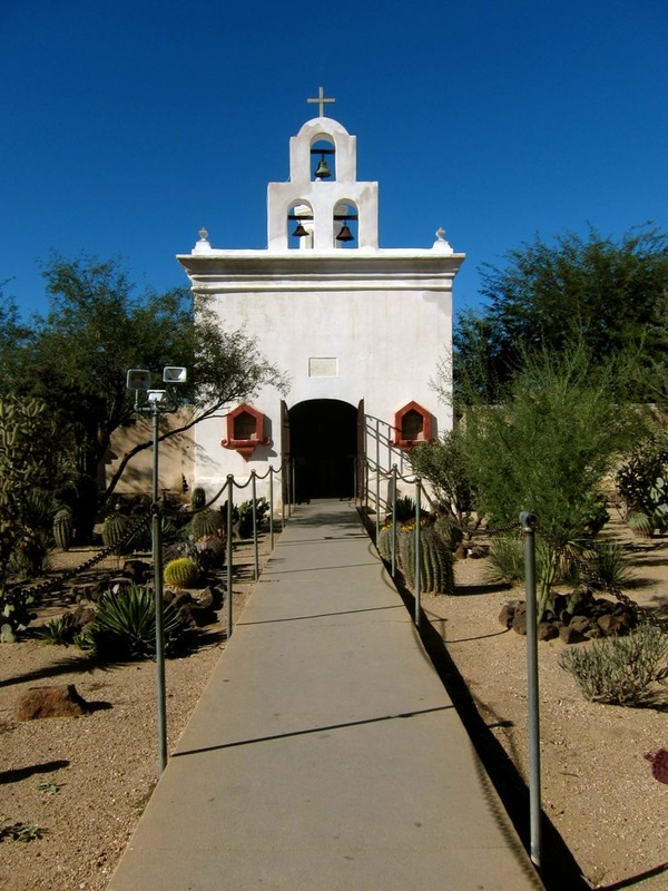 Small Chapel in San Xavier del Bac