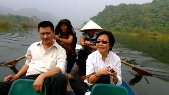 Boat Trip to the Perfume Pagoda