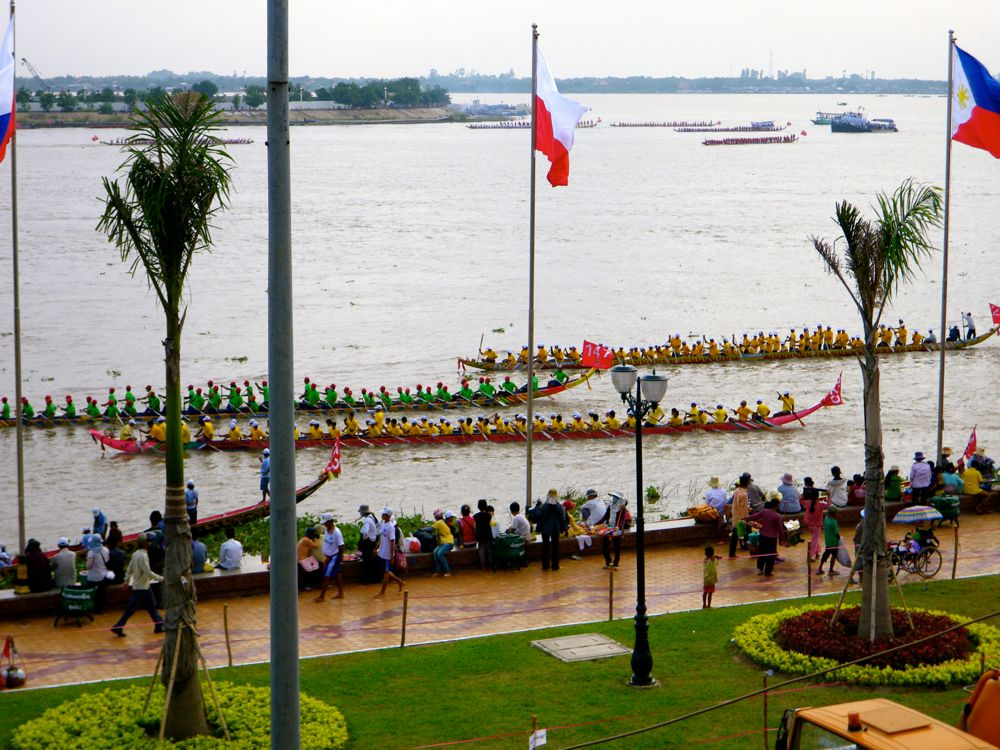 The Mekong in Phnom Penh