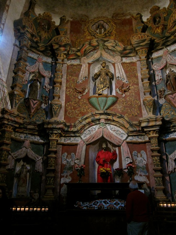 Altar at San Xavier del Bac
