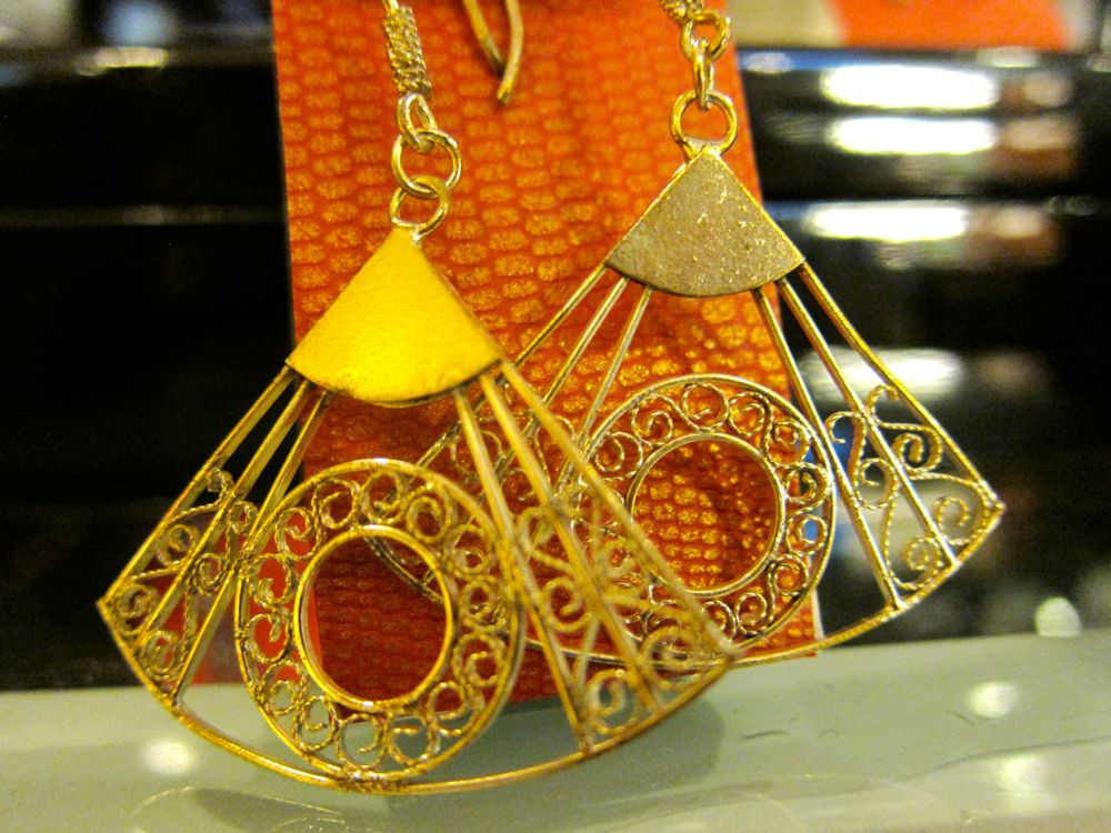 Fan Design in Jewelry