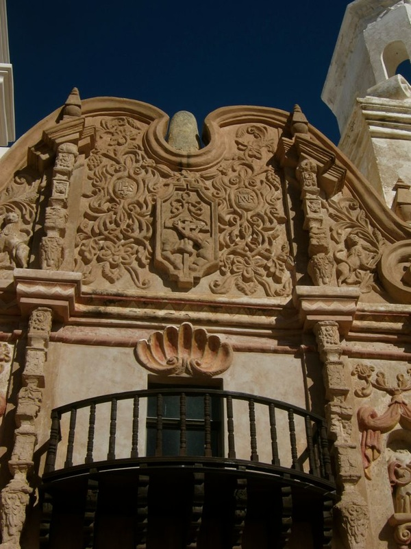 The Facade on San Xavier del Bac