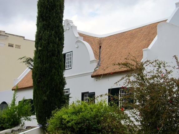 House in Tulbagh in the Western Cape