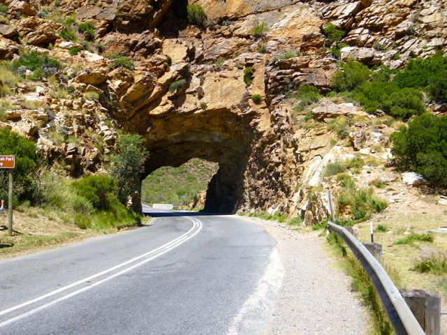 Mountain Pass in the Western Cape