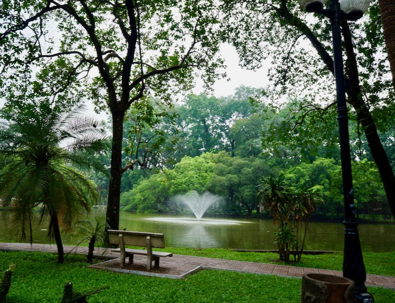 Botanical Garden in Hanoi