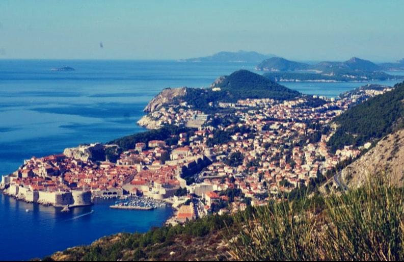 Panoramic View of Dubrovnik