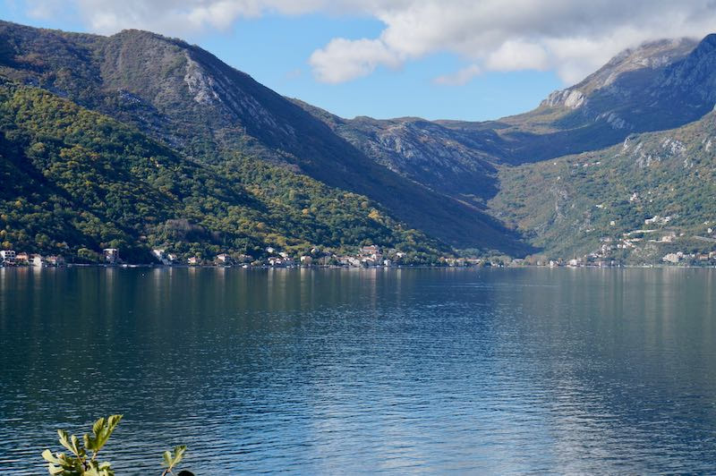 Villages on the Bay of Kotor