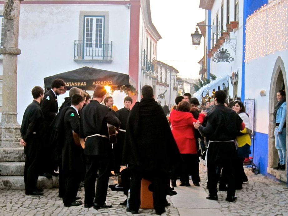 Dancing in the Streets of Obidos
