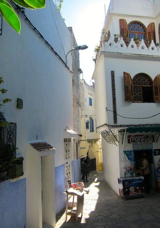 Alleyways in Tangiers