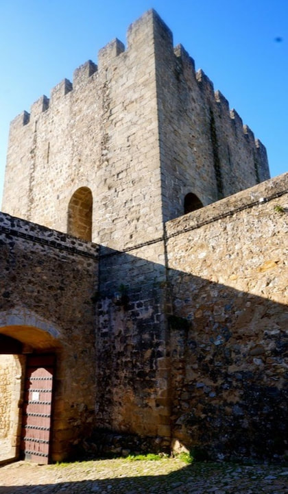 The Muslim Castle in Elvas