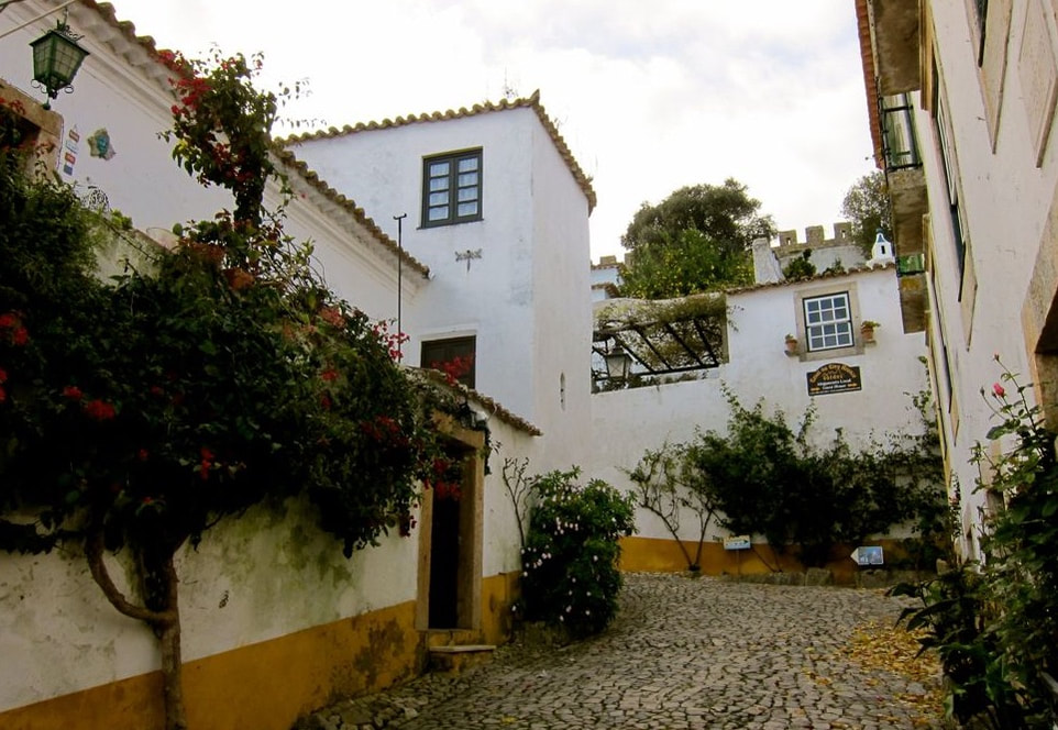 Courtyard in Obidos