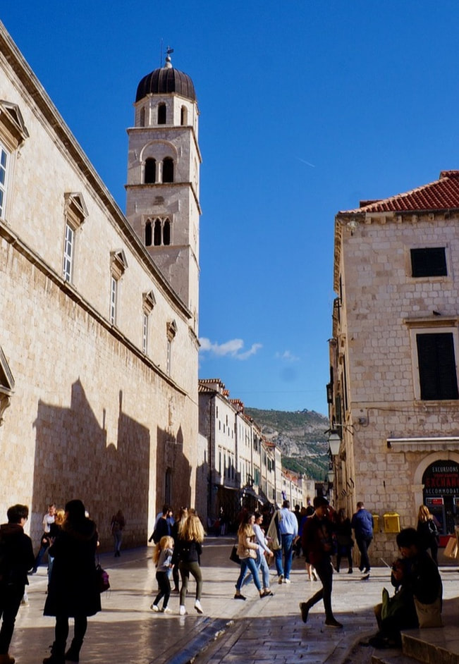 Old City Street Dubrovnik