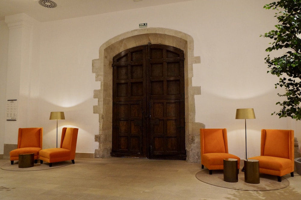 Reception Area of the Parador in Lleida