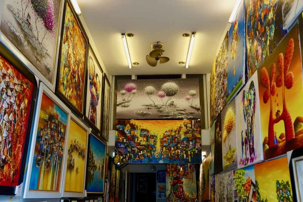 Paintings in Hanoi